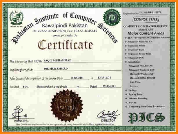 9+ it certificate format | sample of invoice