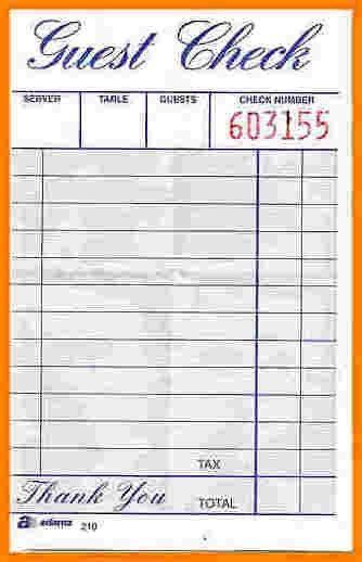 restaurant receipts template | receipts template