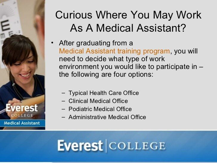 Where Do Medical Assistants Work?