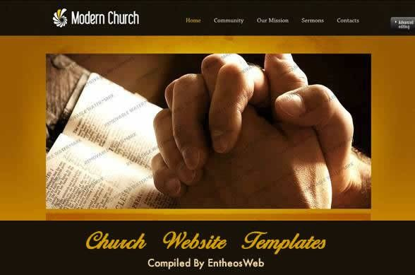 Best Church Website Templates | Entheos