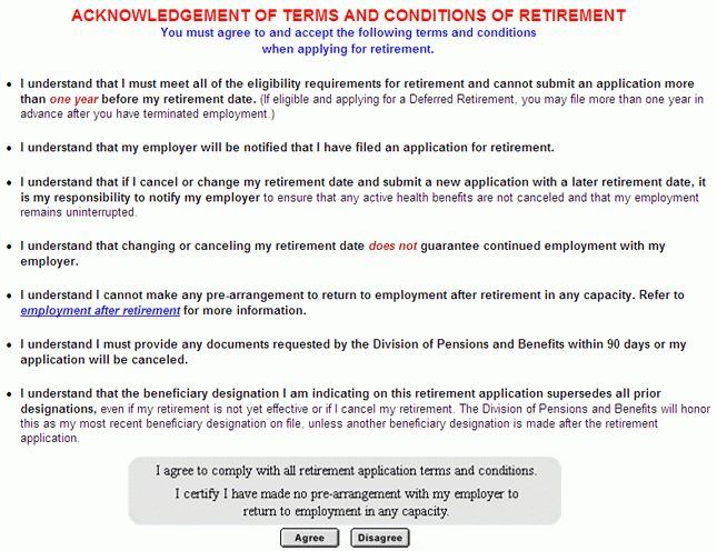 Division of Pensions and Benefits