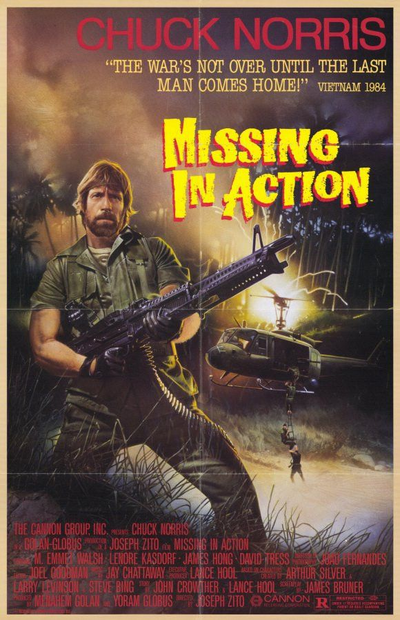 Missing in Action 1984 Movie Posters | JoBlo Posters