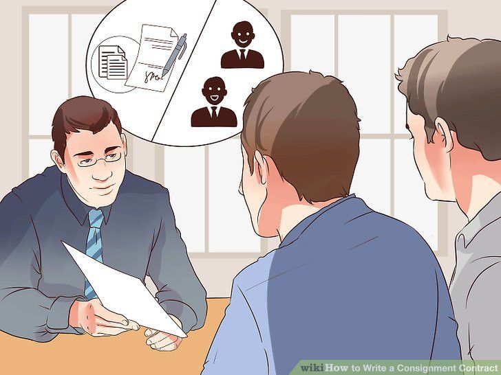 How to Write a Consignment Contract (with Pictures) - wikiHow