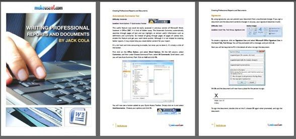 Professional Report Template Word 2010 | Samples.csat.co