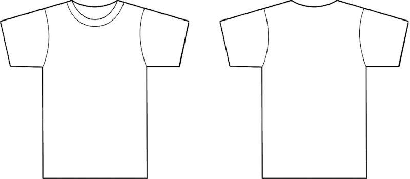 t Shirt Template Clip Art (54+)