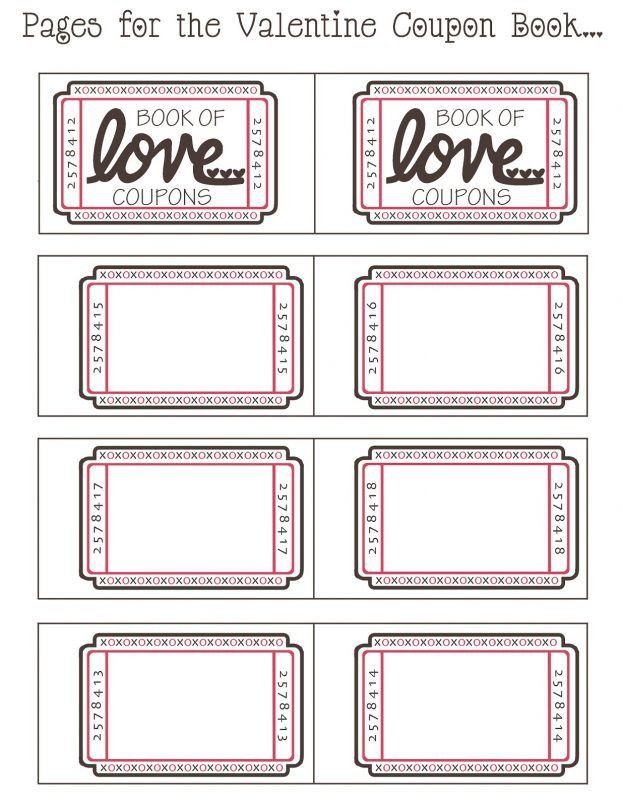 blank coupon template source abuse report coupon book diy blanks ...