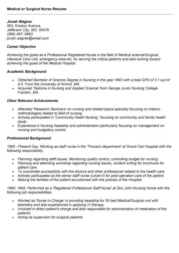 nurse resume skills telemetry nurse resume samples tips and staff