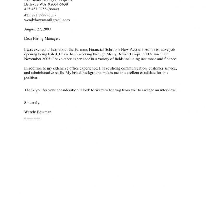 well suited ideas generic resume cover letter 4 general cover