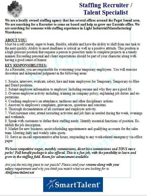 bilingual recruiter resume bilingual recruiter resume sample - Bilingual Recruiter Resume