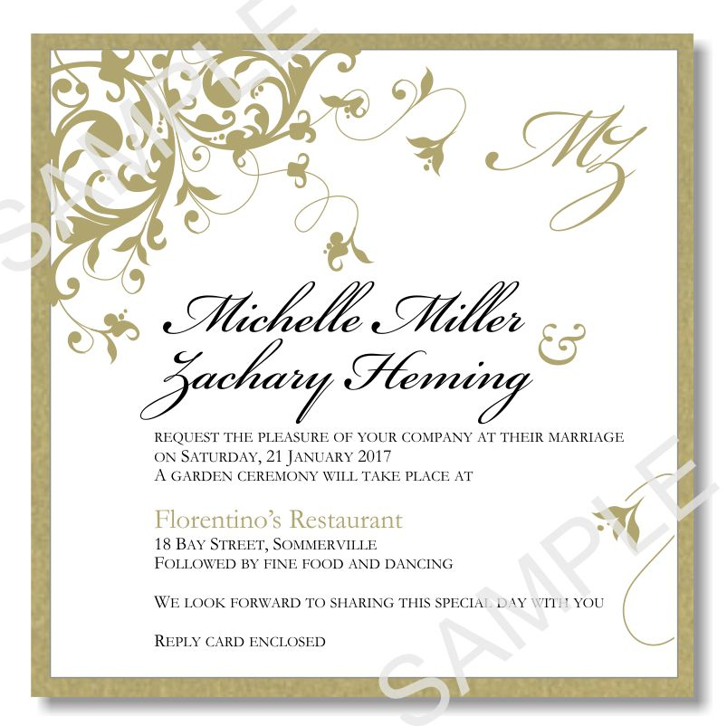Wedding Invitation Templates Word - vertabox.Com