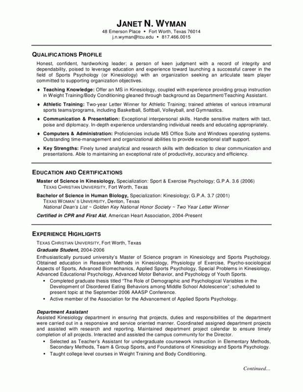 Academic Resume Examples. 17 Academic Curriculum Vitae For ...