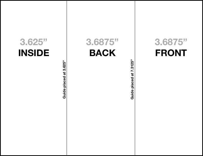 gate fold brochure template | Professional Templates