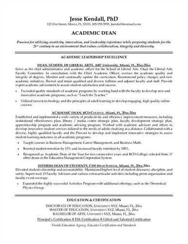 Academic Advisor Resume [Template.billybullock.us ]