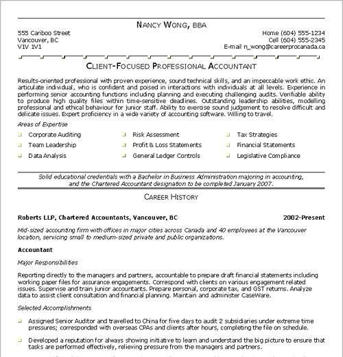 sample cpa resumes resume cv cover letter. resume formatting ...
