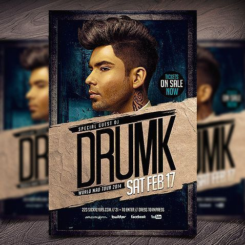 Club Flyer Templates & Free Flyer Templates