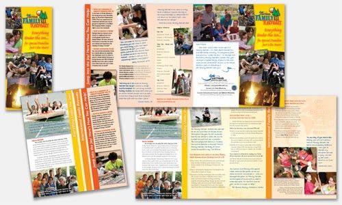 Freelance Graphic Design Sample Portfolio | Brochure Design