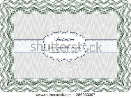 Formal Invitation Template. Sample Wedding Invitation Template ...