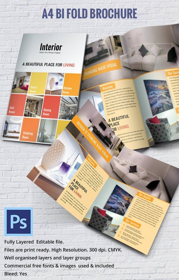 17+ Interior Decoration Brochure – Free Word, PSD, PDF, EPS ...