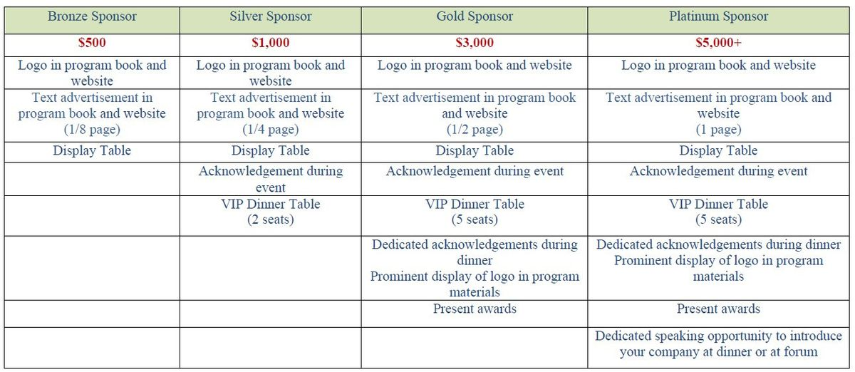 2017 Gala Sponsorship Packages and Benefits | Chinese ...