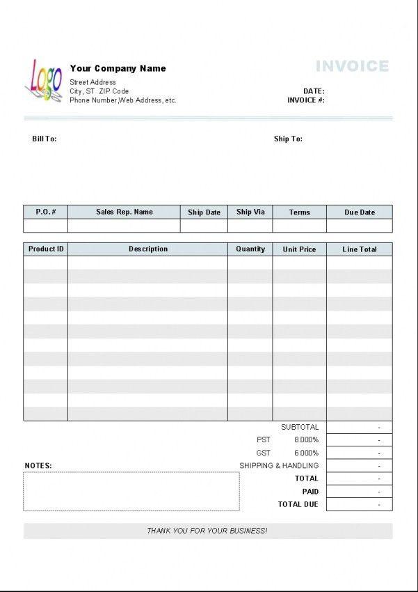 Download Ltd Company Invoice Template Uk | rabitah.net