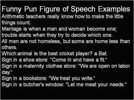 Funny Pun Figure of Speech with Examples - Paperblog