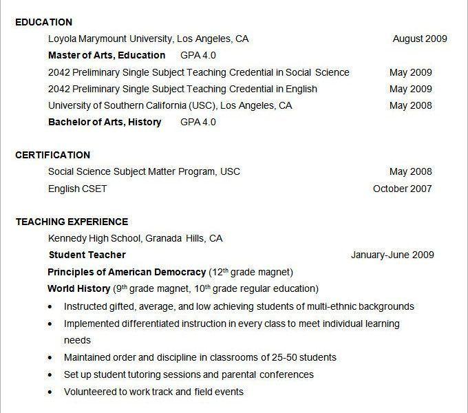 Excellent Ideas Formatting Resume 12 Resume Formatting Talk ...