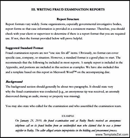 Report Writing Format for Students | TemplateZet