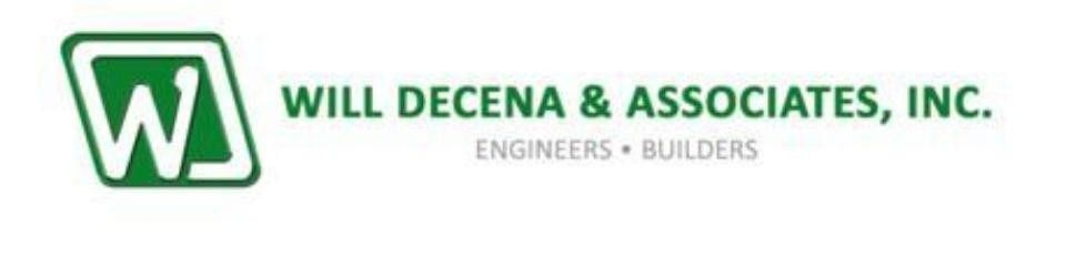 Autocad Operator Designer Job - Will Decena & Associates, Inc ...