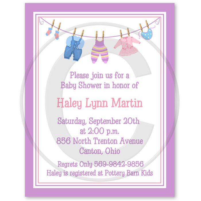 Baby Shower Invitation Verbiage | THERUNTIME.COM