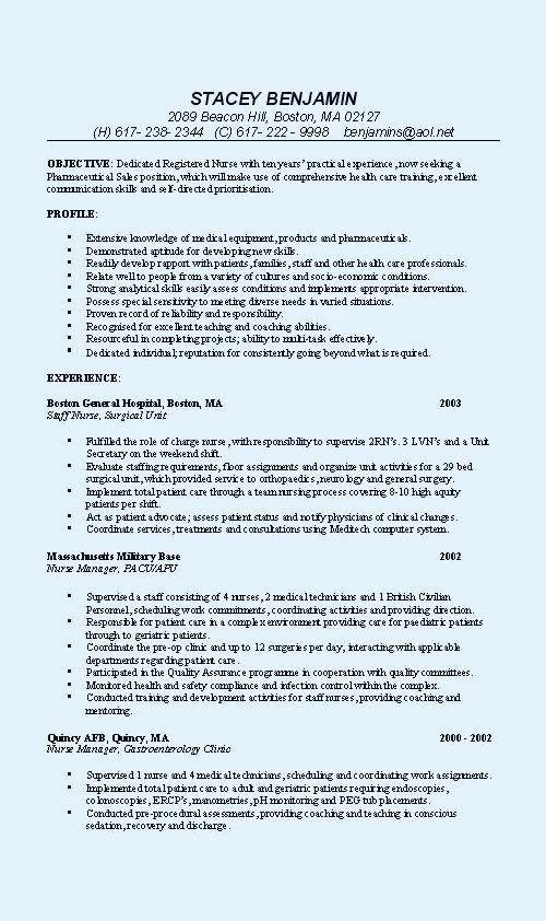 Medical Assistant Sample Resume | The Best Letter Sample