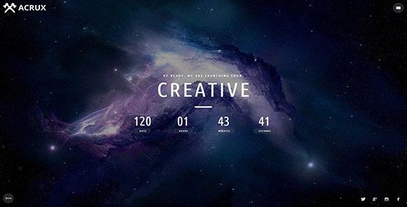 Space Templates from ThemeForest