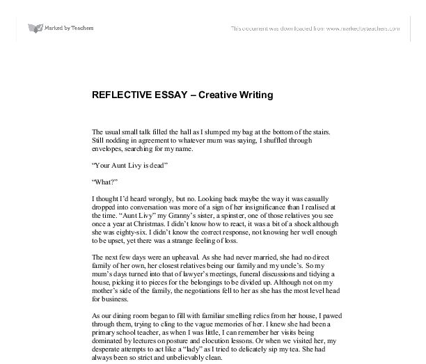 Thesis Statement Essay Reflective Essay About Writing Skills Ascend Surgical Sales Kinds  Sample Essay With Thesis Statement also How To Write A Thesis Statement For An Essay English Reflective Essay Example Practice Ap English Essay  Example Of An English Essay