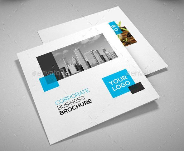 21 Striking Square Brochure Template Designs | Web & Graphic ...