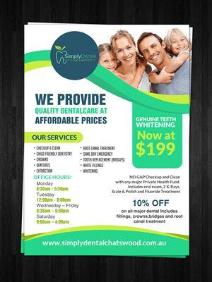 33 Bold Playful Dental Flyer Designs for a Dental business in ...