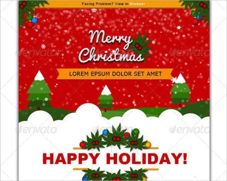 24+ Best Christmas Email Templates - Creativetemplate | Creative ...