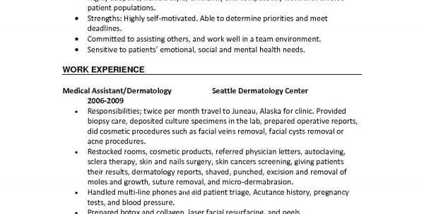 Medical Office Assistant Job Description Sample Resume Medical ...