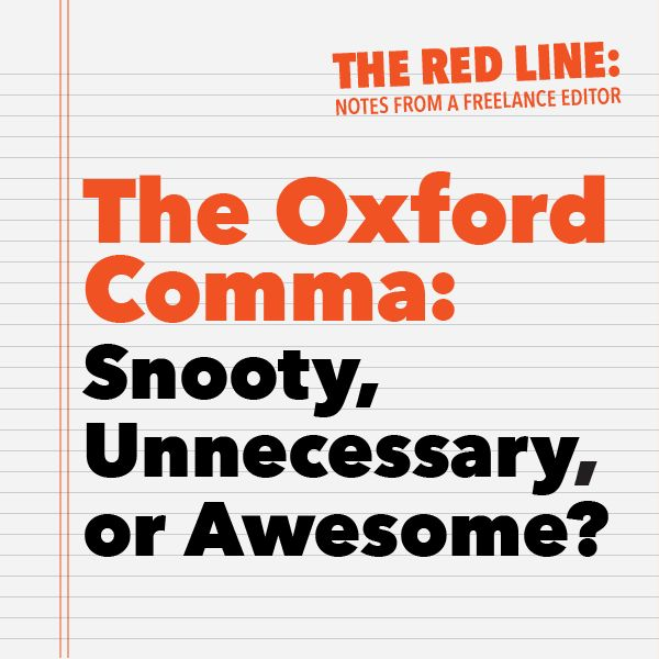 Do you need an Oxford Comma?