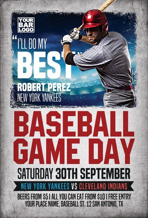 Baseball Flyer. It Baseball Flyer Template - Best Word Templates ...