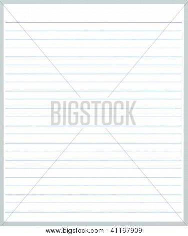 A Sheet Of Grey Color Lined Paper Stock Photo & Stock Images ...