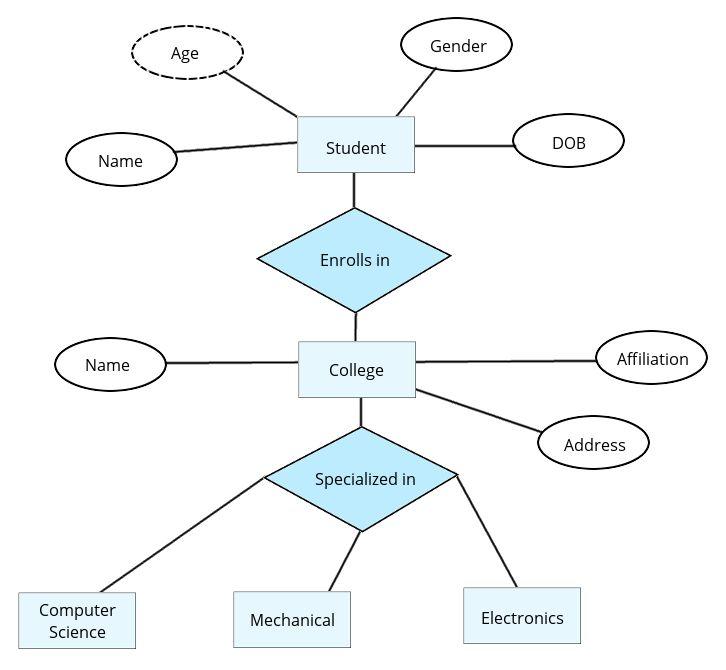 Entity Relationship Diagram |Professionalqa.com