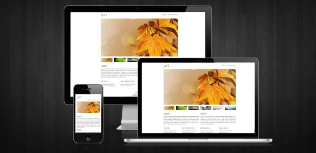 Luft – Premium HTML/CSS template | andreasviklund.com
