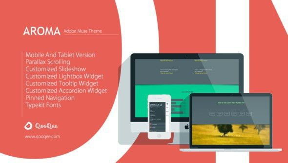 20 Best Responsive Adobe Muse Templates 2017 - AWD Blog