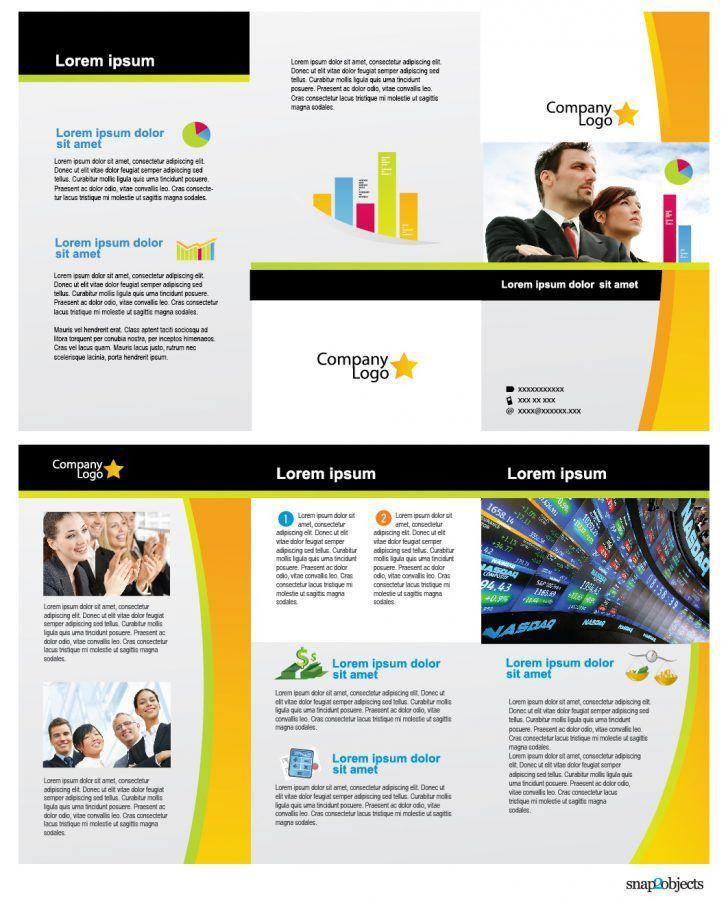 Best Of Word Tri Fold Brochure Template Free | pikpaknews