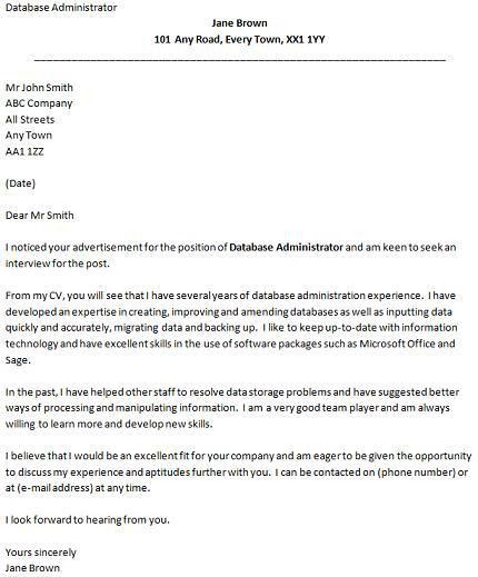job application cover letter template. sample cover letters for ...