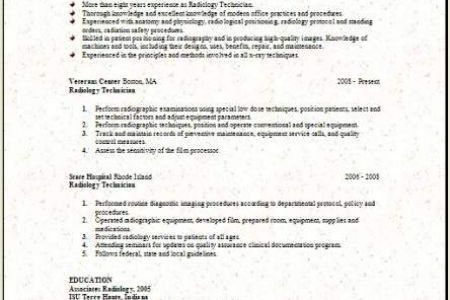 Sample Resume For Medical Technologist In The Philippines | Create ...