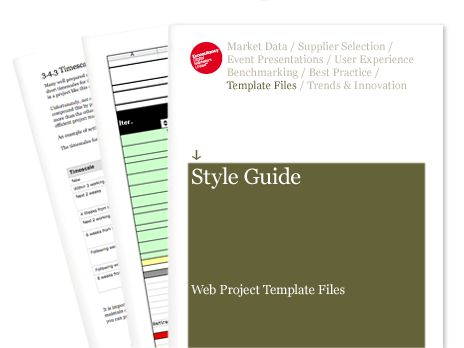 Style Guide - Web Project Template Files | Econsultancy