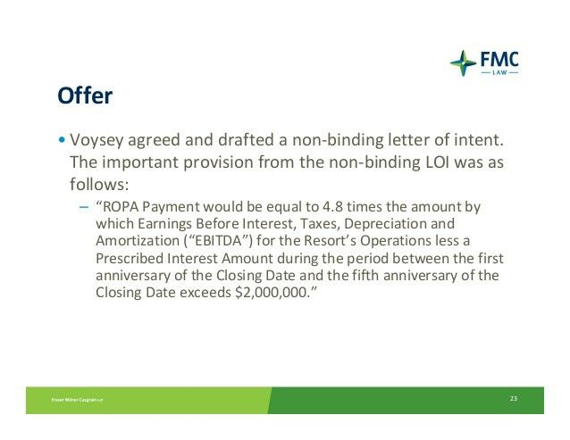 Letter of intent binding contract | Eat the Damn Cake > why ...