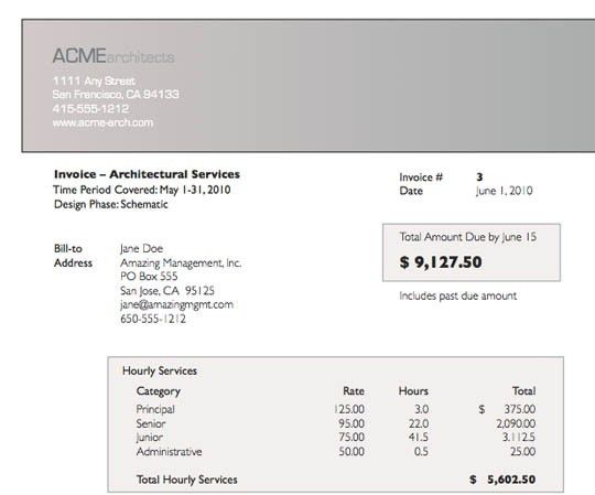 Contract Invoice. Microsoft Excel ( Xls) Free Contractor Invoice ...