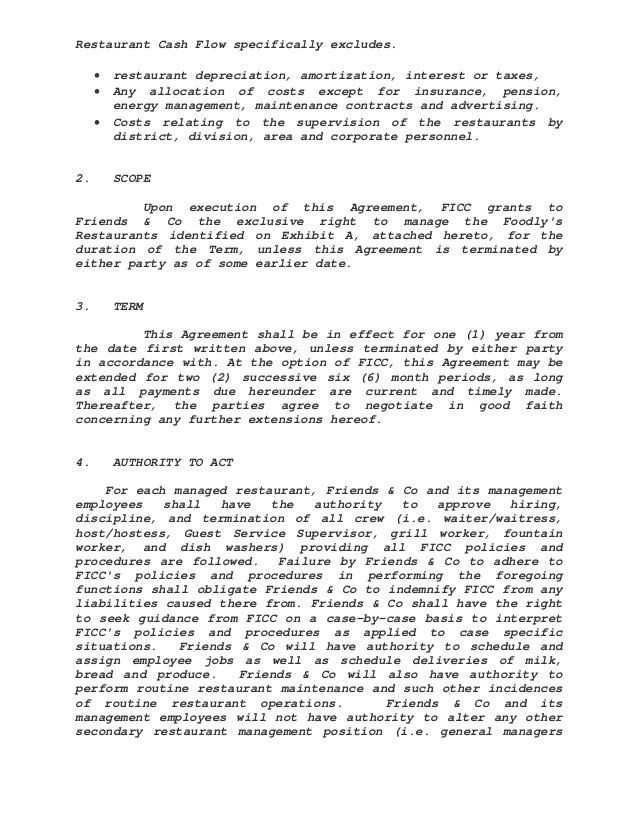Management Contract Template. House Construction Contract Template ...