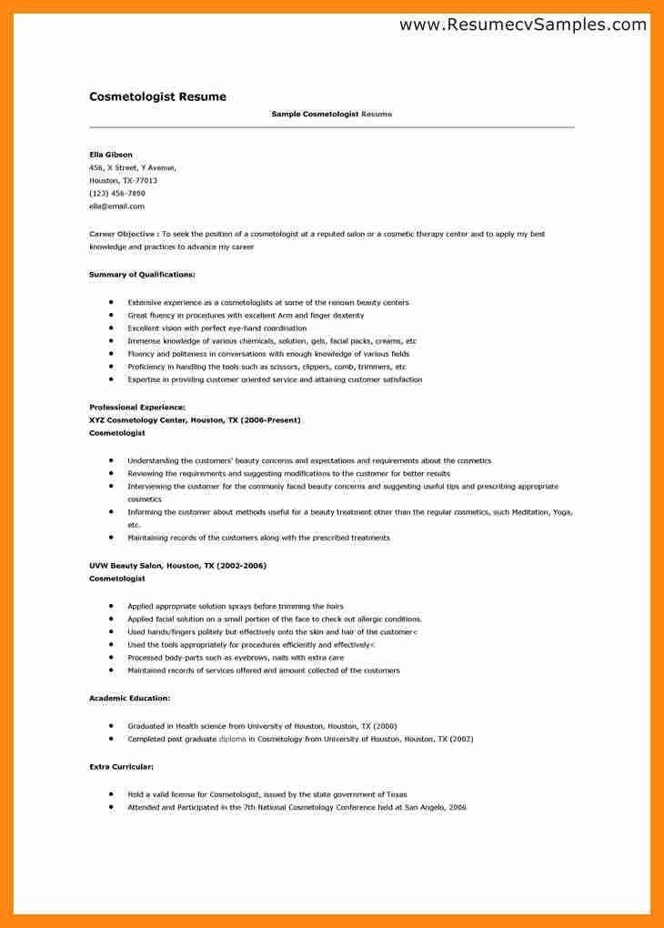 5+ student cosmetology resume | graphic-resume